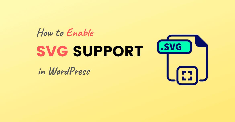 wordpress svg support
