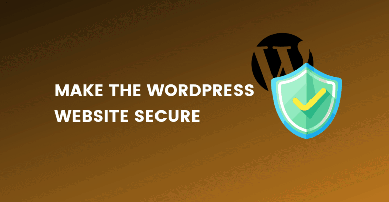 make wordpress website secure