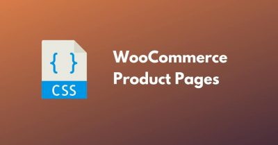 apply CSS To WooCommerce Product Pages Only