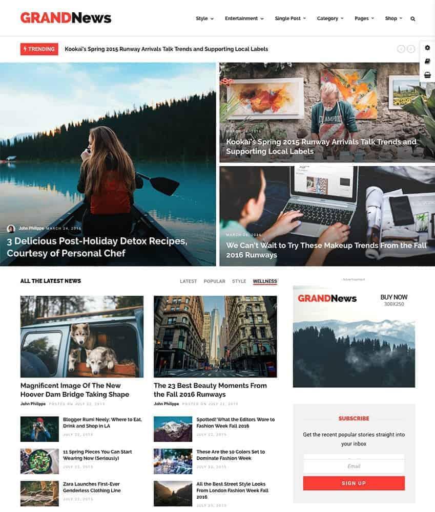 28+ Best WordPress News Themes 6