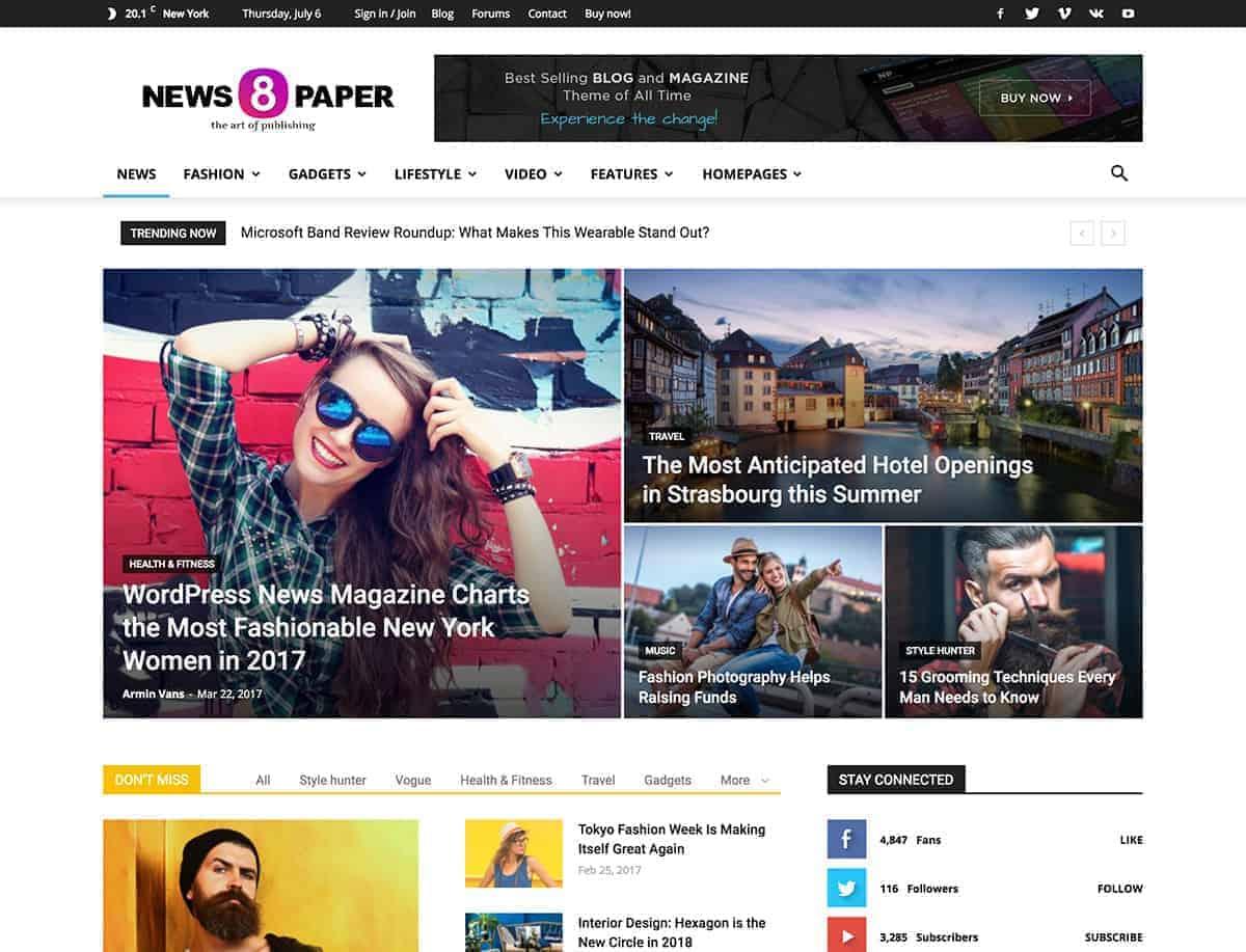 28+ Best WordPress News Themes 1
