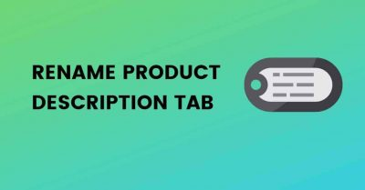 Rename Product Description Tab woocommerce