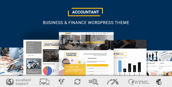 tax accountant wordpress themes