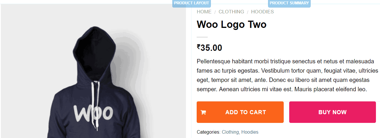add icon to add to cart button woocommerce