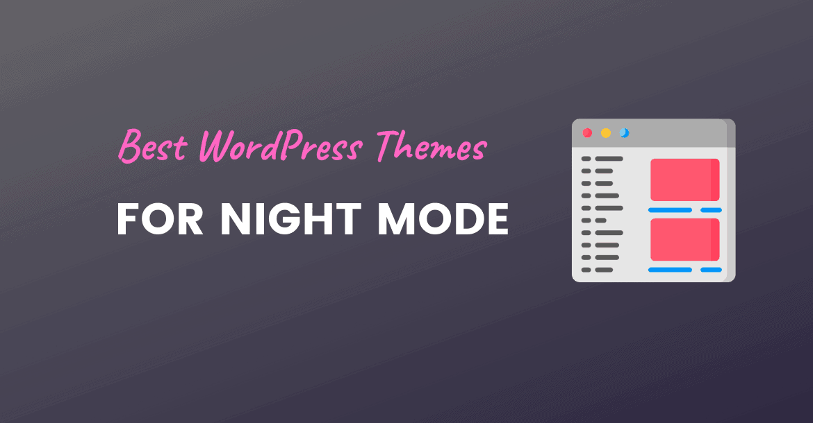 night mode wordpress themes