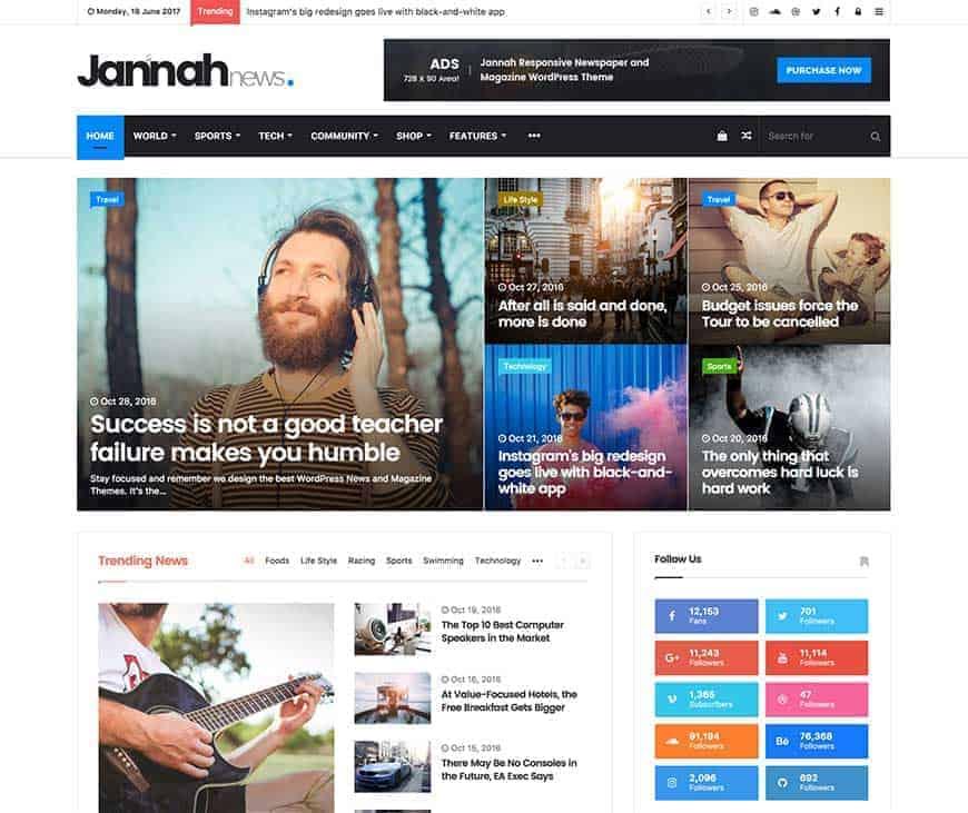 Best WordPress Theme- Jannah