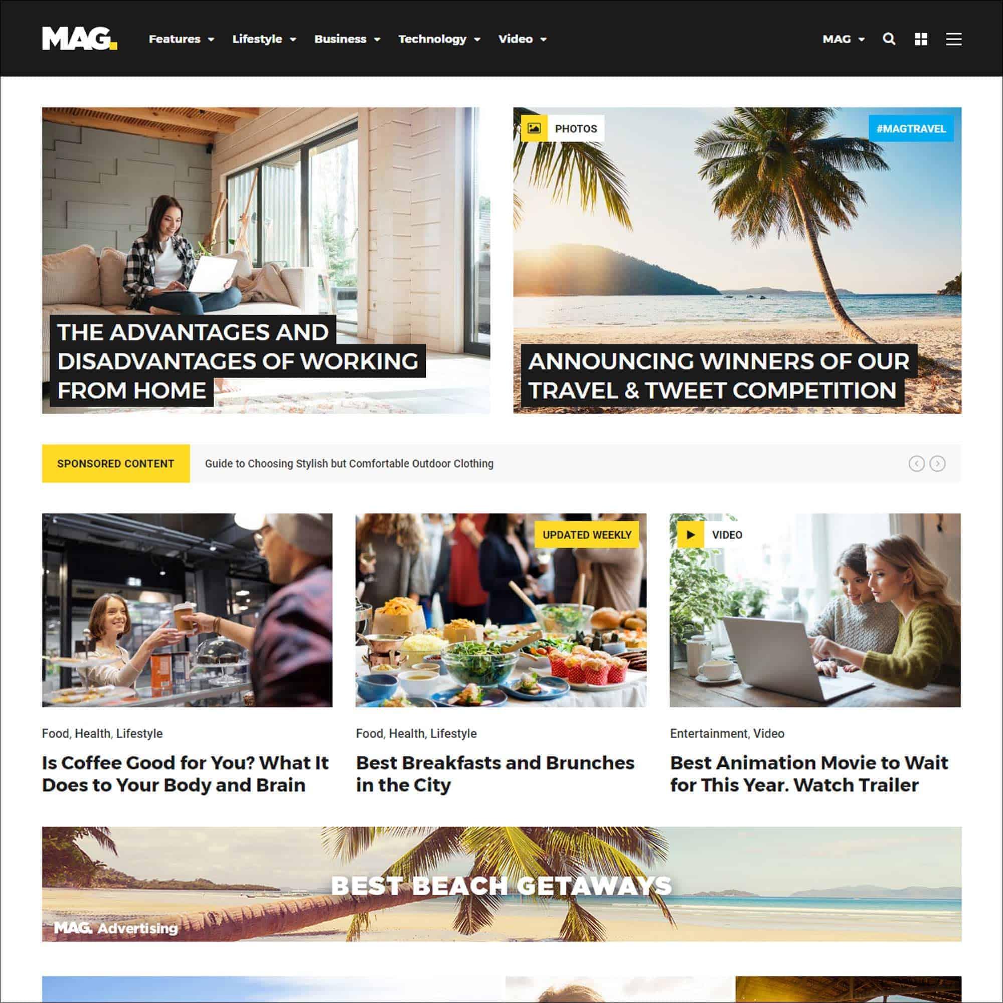 28+ Best WordPress News Themes 4