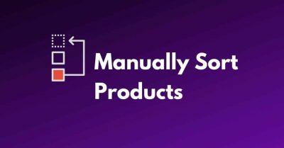 manually sort products woocommerce