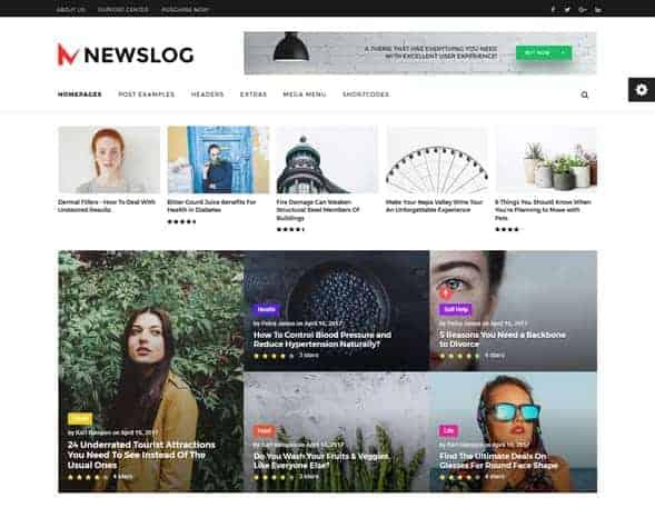 28+ Best WordPress News Themes 9