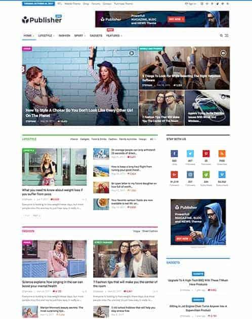 28+ Best WordPress News Themes 7