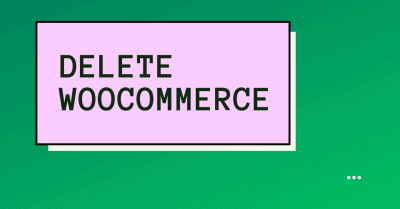 reset and delete woocommerce data